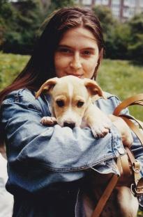 Jenny mit Indy